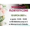 Warsztaty florystyczne w Gminie Mierzęcice